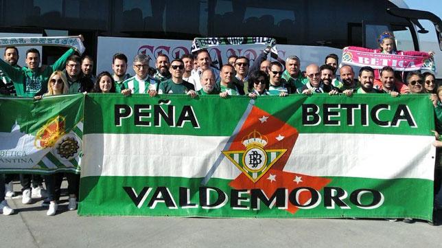 La expedición hacia Bilbao de la Peña Bética de Valdemoro