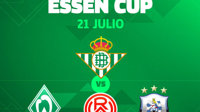 Cartel de la Essen Cup (Real Betis)