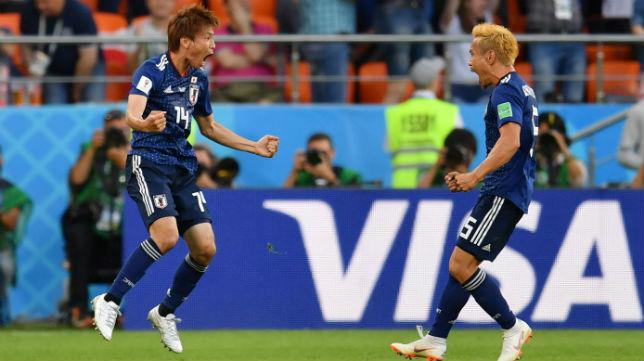Inui celebra su gol ante Senegal (AFP)