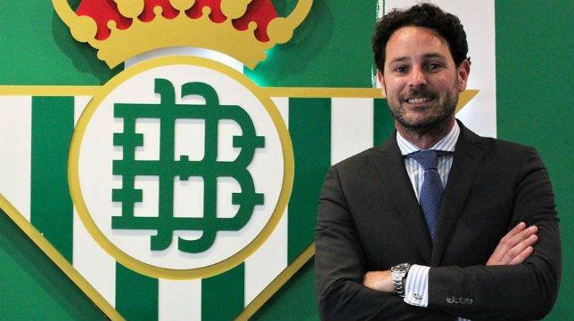 José María Gallego, consejero del Real Betis (Foto: RBB)