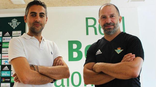 José Manuel Álvarez Casado y David Álvarez Santana (Foto: RBB)