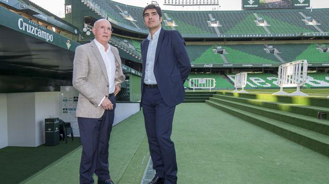 Lorenzo Serra Ferrer y Ángel Haro (foto: Juan José Úbeda)