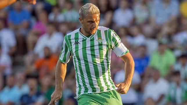Joaquín, ante el Sporting de Braga (foto: Alberto Díaz)