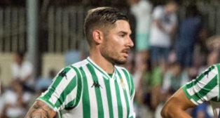 Javi Garcia, ante el Sporting de Braga (foto: Alberto Díaz)