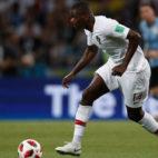 William Carvalho, en el partido del Mundial entre Portugal y Uruguay (Foto: AFP).