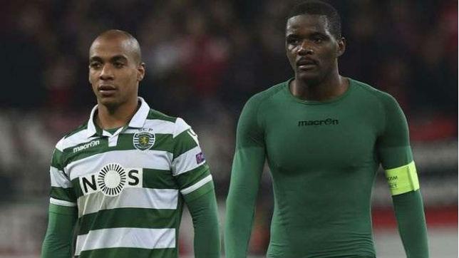 Joao Mario y Wiliam Carvalho en su etapa con el Sporting de Lisboa (A Bola)