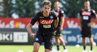 Fabián, uno más a las órdenes de Ancelotti (foto: SSC Napoli)