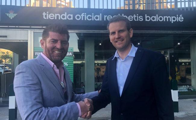 Fernando González – Serna, Director de SERCONS y Philippe SACHET, General Manager Iberia de SPORTFINANCE Company,