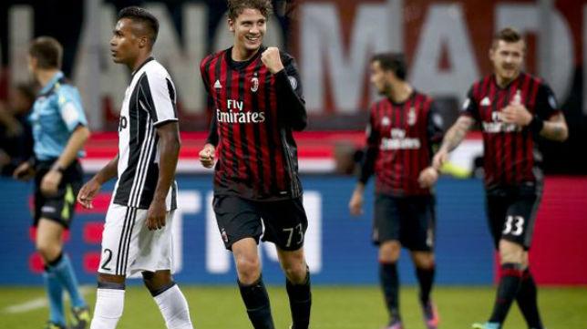 Locatelli celebra un gol ante la Juventus (Foto: ABC)