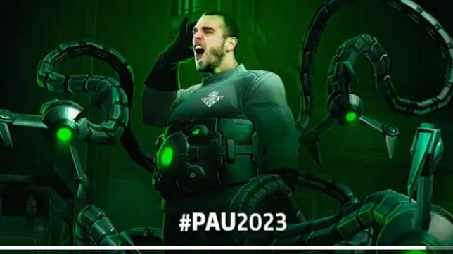 El anuncio del fichaje de Pau López (Foto: Real Betis).