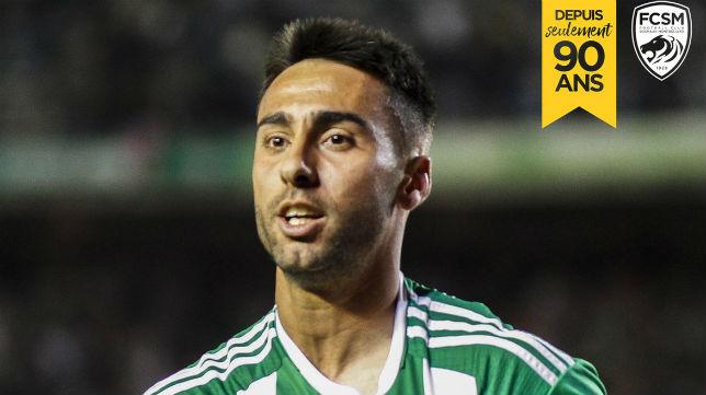 El FC Sochaux-Montbéliard ha anunciado la contratación de Rafa Navarro (Foto: @FCSM_officiel)