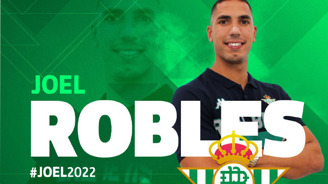 Joel Robles, nuevo jugador del Real Betis