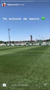 Despedida de Fabián en la ciudad deportiva del Betis