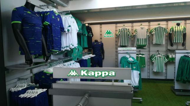 Kappa abrirá mañana la nueva tienda oficial del Betis en el Muelle de las  Delicias - Al final de la Palmera 1d1cd7e54e5f4