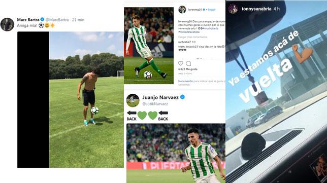 Los mensajes de Bartra, Loren, Narváez y Sanabria en sus perfiles de redes sociales