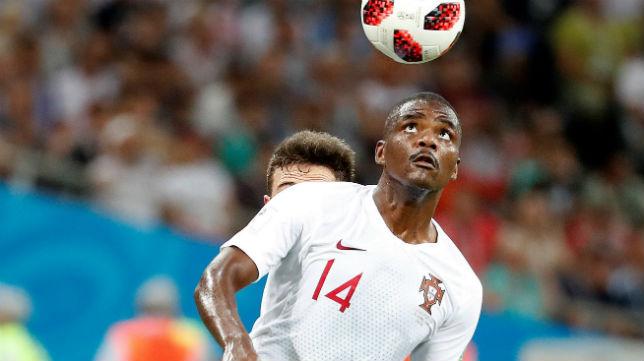 William Carvalho, durante el Uruguay-Portugal del Mundial de Rusia (Foto: EFE)