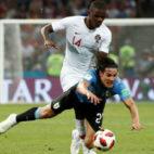 William Carvalho, en el Portugal-Uruguay (Reuters)