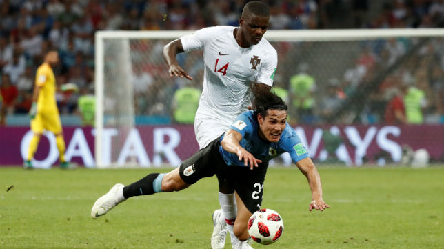 William Carvalho, en el Portugal-Uruguay (Reuters)