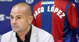 Paco López, entrenador del Levante (foto: Las Provincias)
