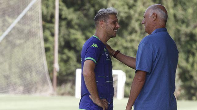 Joaquín y Tomás Calero, en Montecastillo (foto: Paco Martín)