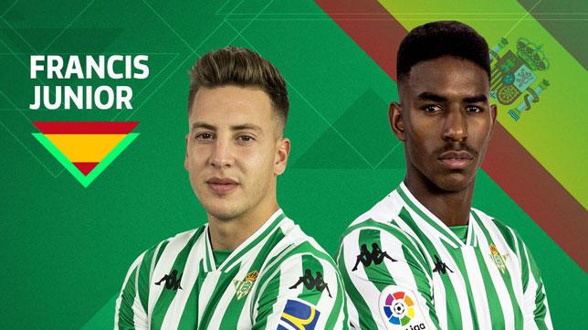 Junior y Francis, convocados por la selección sub21 (foto: RBB)