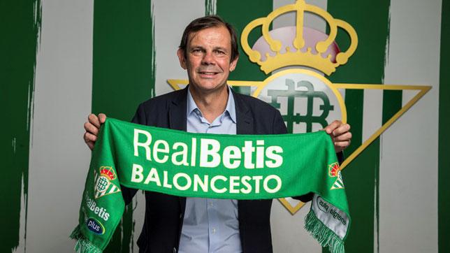 Juanma Rodríguez, director deportivo del Real Betis Energía Plus (foto: RBB)