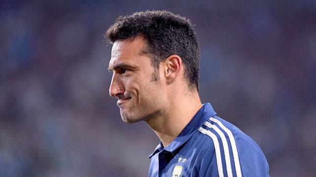 Scaloni, seleccionador de Argentina (AFP)