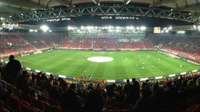 El estadio Giorgios Karaiskakis