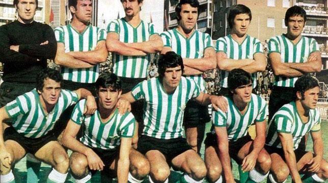 José María Mellado, en la fila superior, el segundo por la izquierda