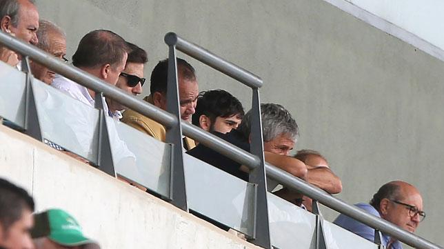 Quique Setién, durante el Betis Deportivo-Xerez Deportivo (Foto: J. J. Úbeda/ABC)