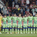 Once del Real Betis ante el Girona (Foto: LaLiga).