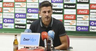 Iván Ania, entrenador del Racing de Santander (RRCS)