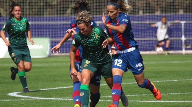 Derrota del Real Betis Féminas en el campo del Levante UD (Foto: Real Betis)