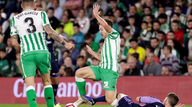 Francis, en el Betis-Valladolid (EFE)