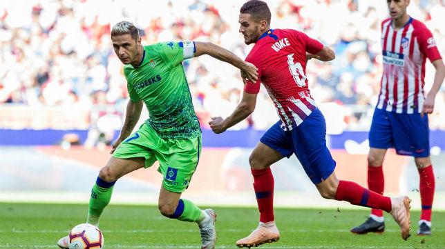 Joaquín, en el Atlético-Betis (EFE)