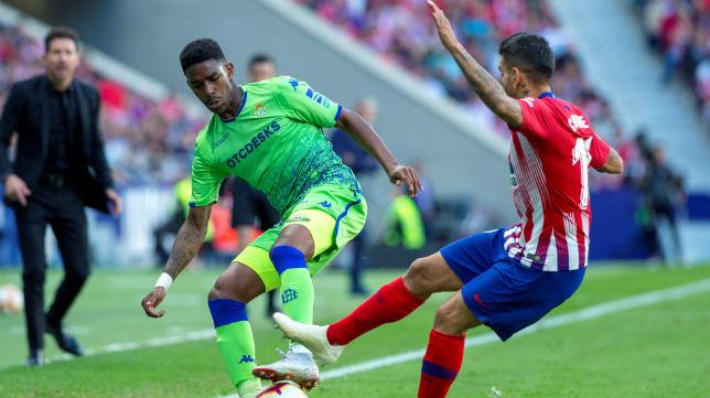 Junior, en el Atlético-Betis (EFE)