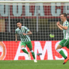 Lo Celso celebra el gol anotado en Milán (Foto: Reuters)