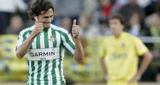 Capi celebra su gol en El Madrigal (Foto: AFP).