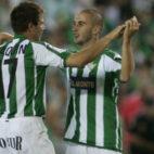 Dani y Joaquín se abrazan tras ganar la final de la Copa del Rey (Foto: Ignacio Gil )