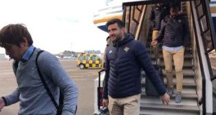 Llegada del Betis a Luxemburgo (Foto: RBB)