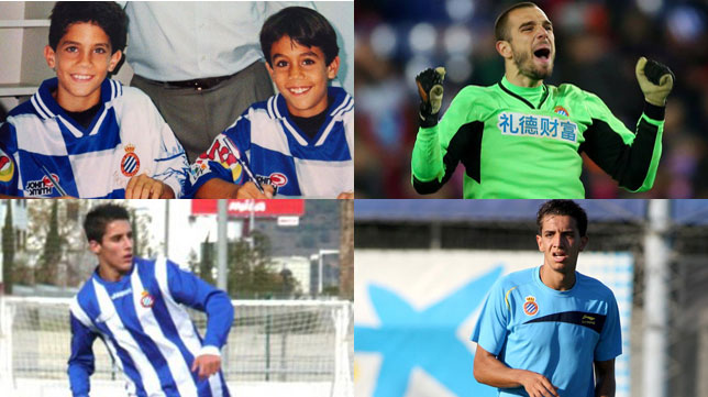 Bartra, Pau López, Tello y Feddal vistieron la camiseta del Espanyol en categorías inferiores o en el primer equipo