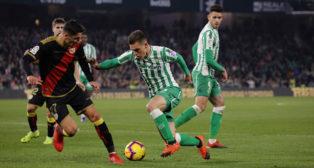 Lo Celso, en un lance del Betis-Rayo (Raúl Doblado)