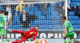 Lo Celso falla un penalti, en el Espanyol-Betis (LaLiga)