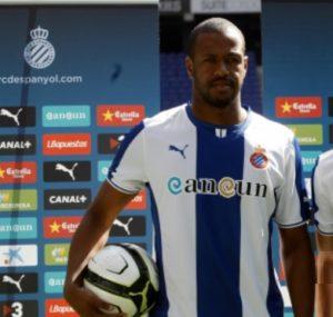 Sidnei, en su presentación como jugador del Espanyol
