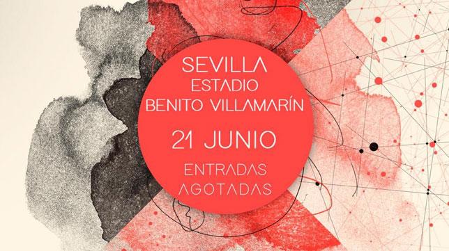 Manuel Carrasco anuncia que se han agotado las entradas para el concierto en el Benito Villamarín