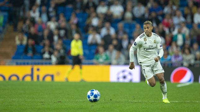 Mariano, en un partido del Real Madrid (Ignacio Gil)