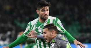 Barragán, en el Betis - Real Sociedad (Foto: Juan José Úbeda)