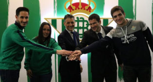 Acuerdo de colaboración entre el Betis y Aedas (RBB)
