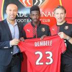 Ousmane Dembele, en su etapa como jugador del Stade Rennais (Foto: Stade Rennais).