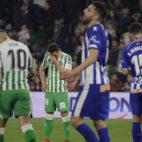 Guardado y Jesé, en el Betis-Alavés (Raúl Doblado)